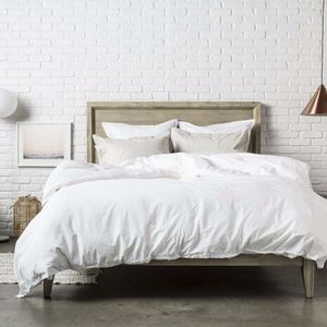 NEW White Percale luxury Duvet Cover ONLY *king*